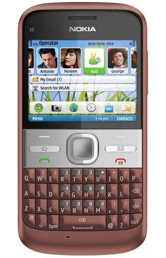 Nokia E5 Brown