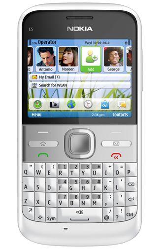 Nokia E5 White
