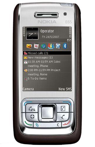 Nokia E65 Mocca