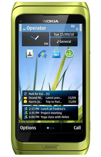 Nokia E7 Green