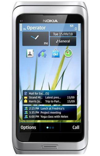 Nokia E7 Silver