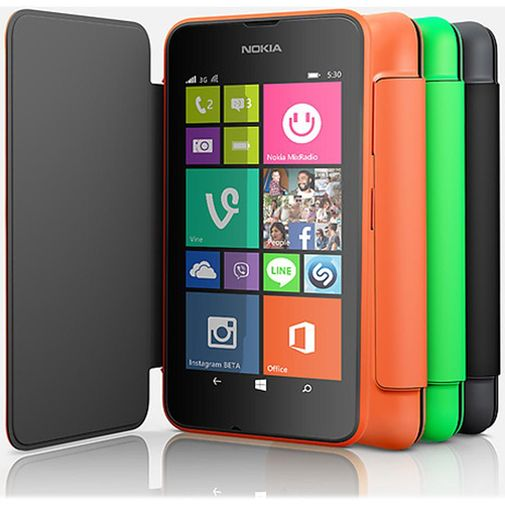 Productafbeelding van de Nokia Flip Case Orange Lumia 530
