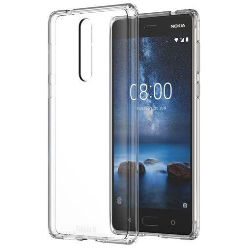 Productafbeelding van de Nokia Hybrid Case Transparent Nokia 8