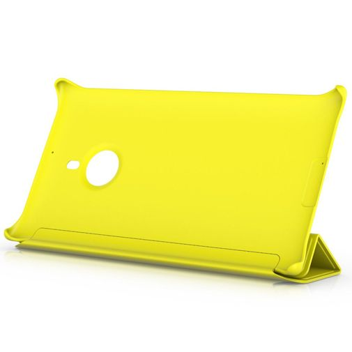 Nokia Lumia 1520 Flip Cover Yellow