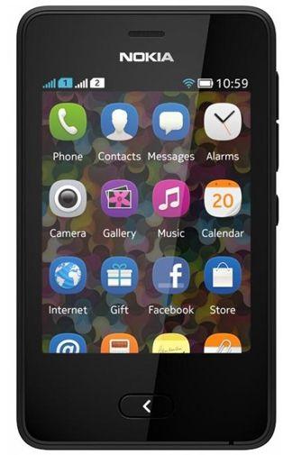 Nokia Asha 501 Dual Black