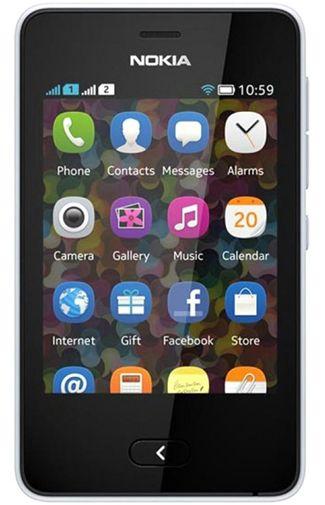Nokia Asha 501 Dual White