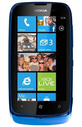 Nokia Lumia 610 Blue
