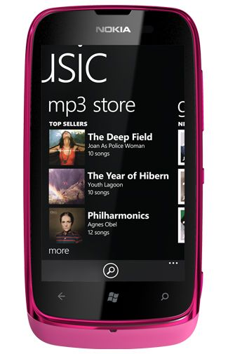 Nokia Lumia 610 Red