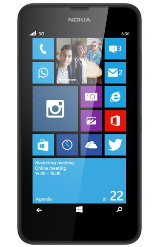 Nokia Lumia 635 1GB Black
