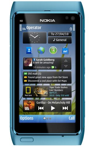 Nokia N8 Blue