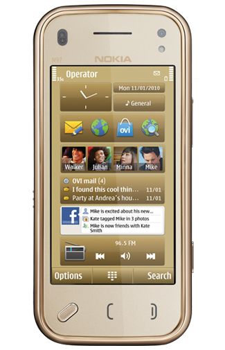 Nokia N97 Mini Gold