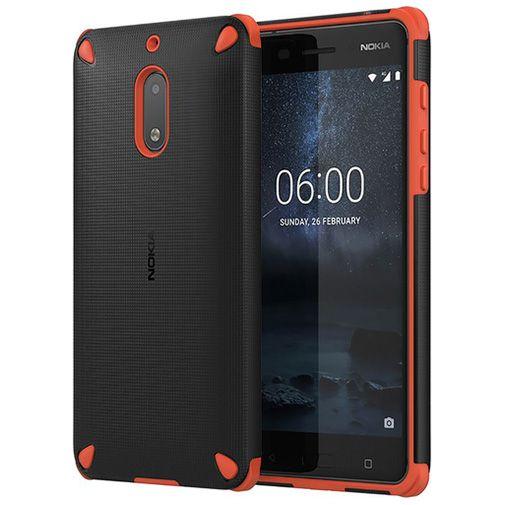 Productafbeelding van de Nokia Rugged Impact Back Case Orange Nokia 6
