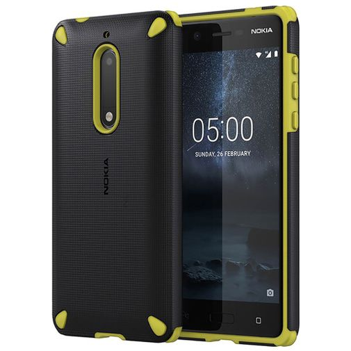 Nokia Rugged Impact Back Case Yellow Nokia 5