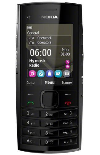 Nokia X2-02 Black