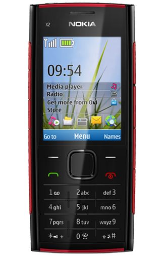 Nokia X2 Black Red