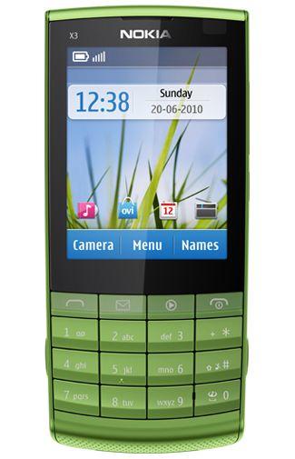 Nokia X3-02.5 Green