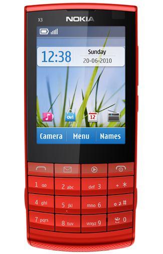 Nokia X3-02.5 Red