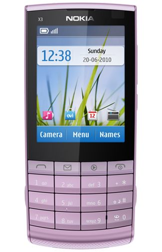 Nokia X3-02 Touch and Type Lila