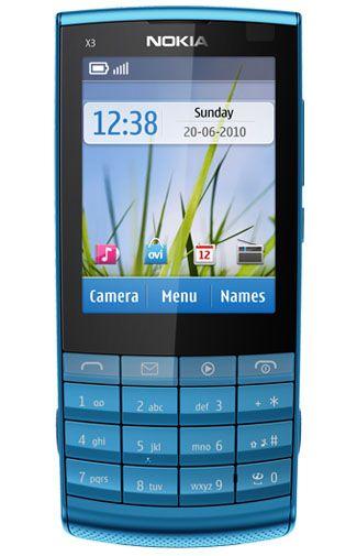 Nokia X3-02.5 Petrol Blue
