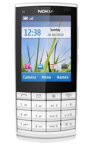 Nokia X3-02.5 White Silver