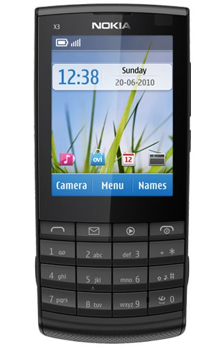 Nokia X3-02 Touch and Type Gun Metal