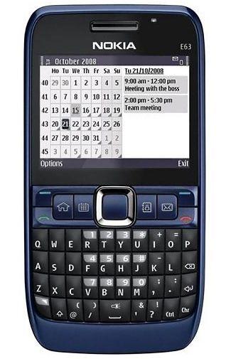 Productafbeelding van de Nokia E63