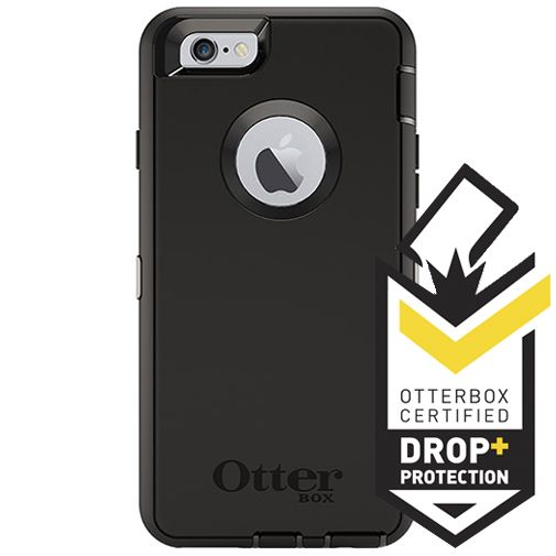 Productafbeelding van de Otterbox Defender Case Black Apple iPhone 6/6S