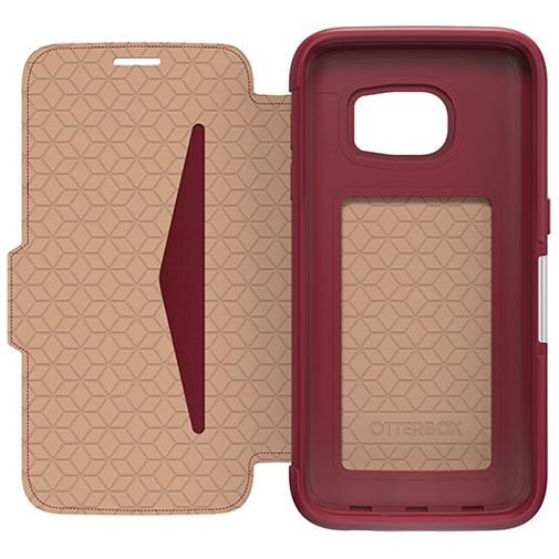Otterbox Strada 2.0 Leather Case Red Samsung Galaxy S7