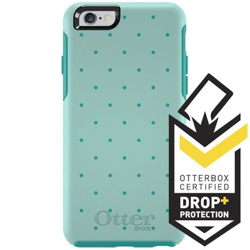 Otterbox Symmetry Case Aqua Dot Apple iPhone 6/6S