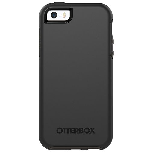 Productafbeelding van de Otterbox Symmetry Case Black Apple iPhone 5/5S/SE