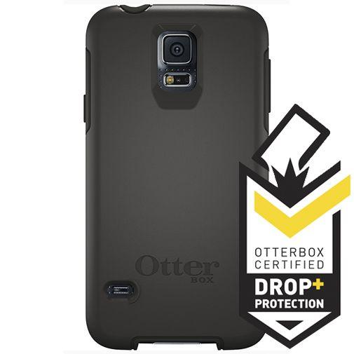 Productafbeelding van de Otterbox Symmetry Case Black Samsung Galaxy S5/S5 Plus/S5 Neo
