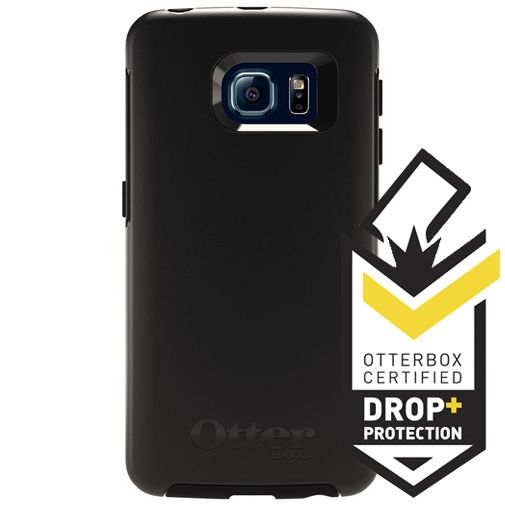 Productafbeelding van de Otterbox Symmetry Case Black Samsung Galaxy S6 Edge