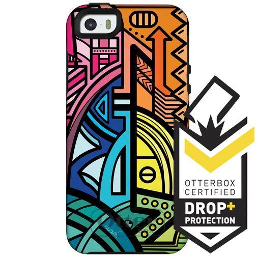 Productafbeelding van de Otterbox Symmetry Case Brazilian Pop Apple iPhone 5/5S/SE