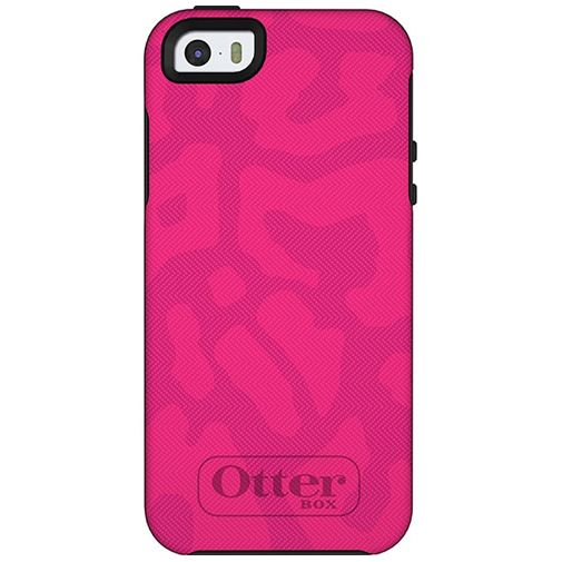 Otterbox Symmetry Case Cheetah Pink Apple iPhone 5/5S/SE