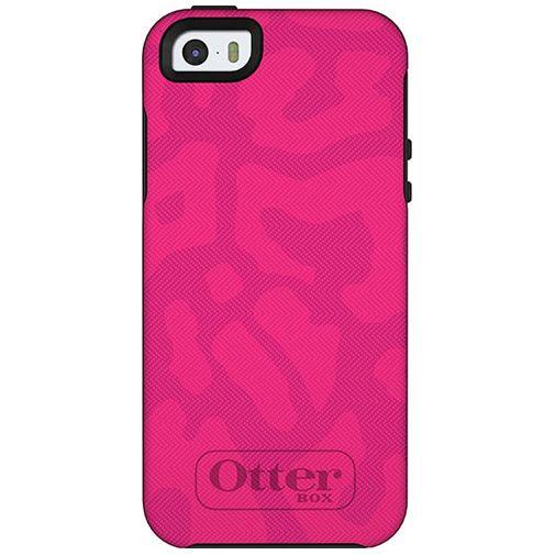 Productafbeelding van de Otterbox Symmetry Case Cheetah Pink Apple iPhone 5/5S/SE