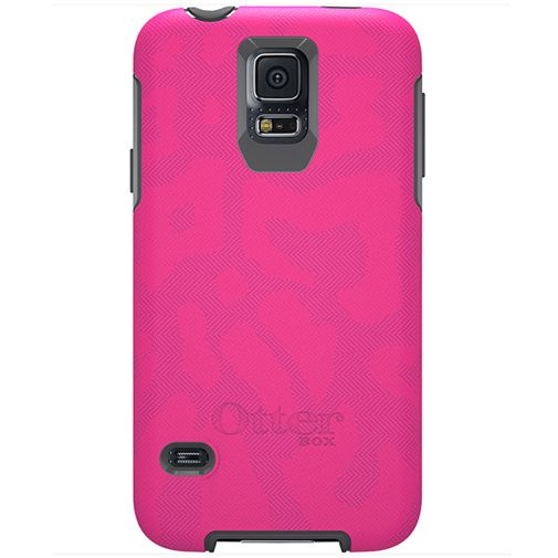Otterbox Symmetry Case Cheetah Pink Samsung Galaxy S5/S5 Plus/S5 Neo