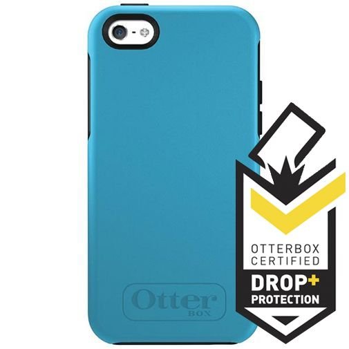 Otterbox Symmetry Case Snowcone Blue Apple iPhone 5C