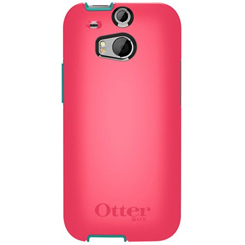 Otterbox Symmetry Case Teal Rose HTC One M8