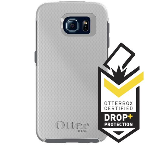 Otterbox Symmetry Case White Carbon Samsung Galaxy S6
