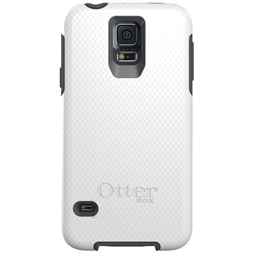 Otterbox Symmetry Case White Grey Samsung Galaxy S5/S5 Plus/S5 Neo