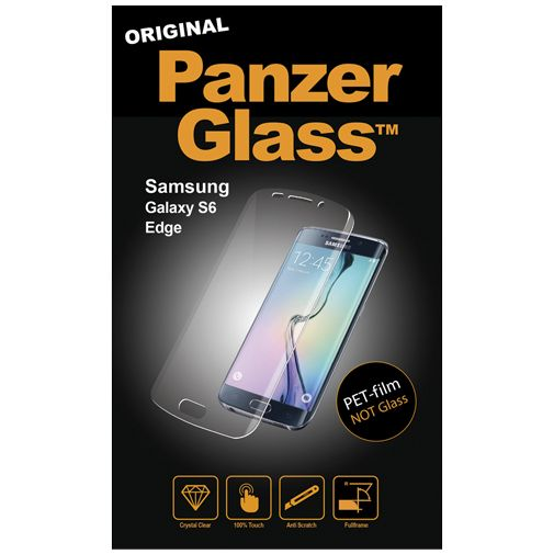 PanzerGlass PET-film Screenprotector Samsung Galaxy S6 Edge