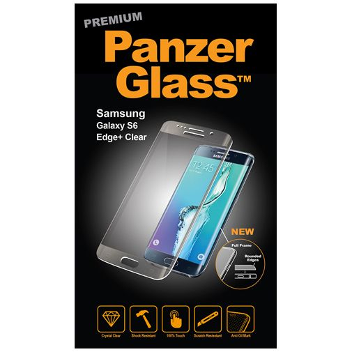 PanzerGlass Premium Screenprotector Clear Samsung Galaxy S6 Edge Plus