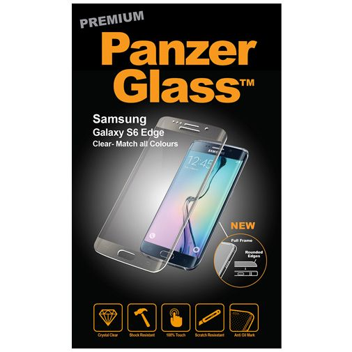PanzerGlass Premium Screenprotector Clear Samsung Galaxy S6 Edge