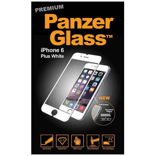 PanzerGlass Premium Screenprotector White Apple iPhone 6 Plus/6S Plus