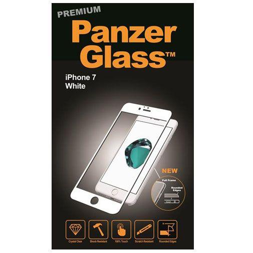 PanzerGlass Premium Screenprotector White Apple iPhone 7