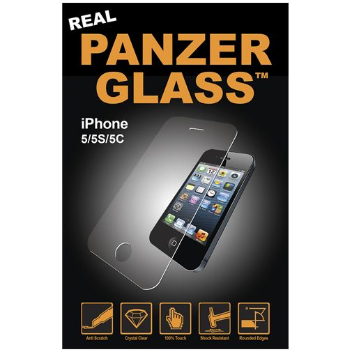 PanzerGlass Screenprotector Apple iPhone 5/5S/5C/SE