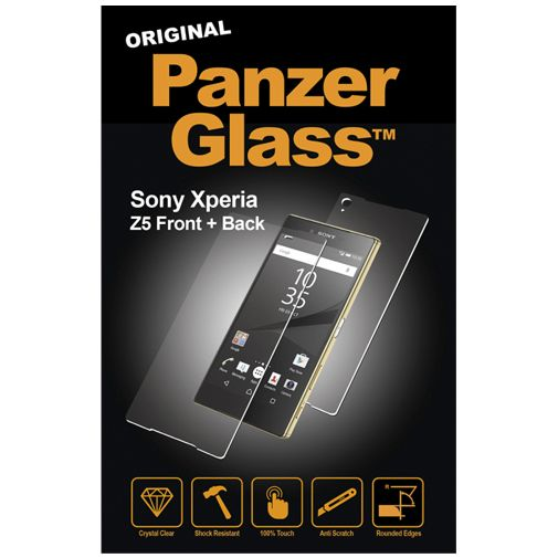 PanzerGlass Screenprotector Front and Back Sony Xperia Z5