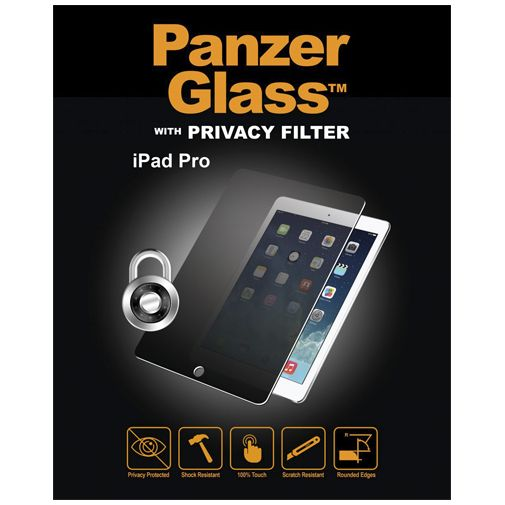 PanzerGlass Screenprotector Privacy Apple iPad Pro 12.9