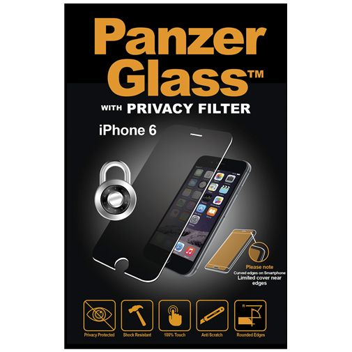 PanzerGlass Screenprotector Privacy Apple iPhone 6/6S