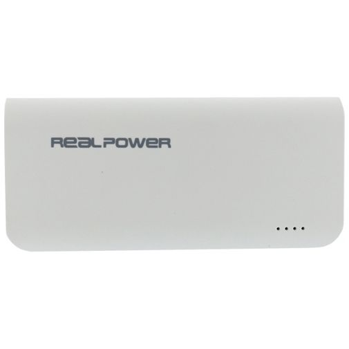 RealPower Powerbank 4000 mAh White